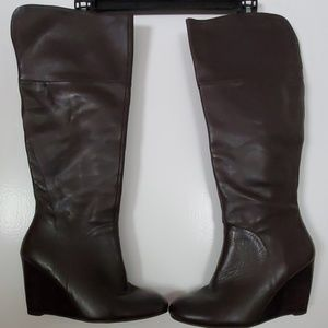 Nine West Brown knee high Boots